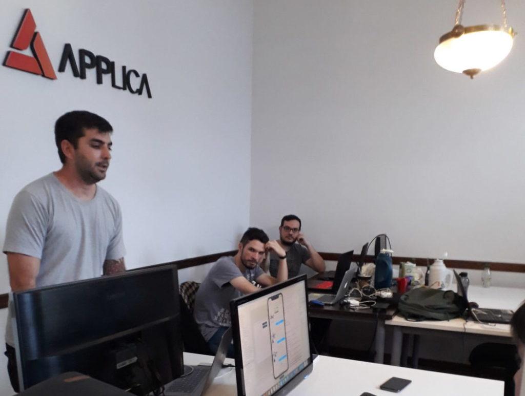 Alumnos de Desarrollo de Software del IES Santa Fe visitaron APPLICA